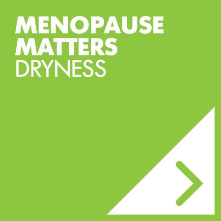 menopause dryness